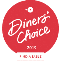 OpenTable Diners Choice 2019 Award logo