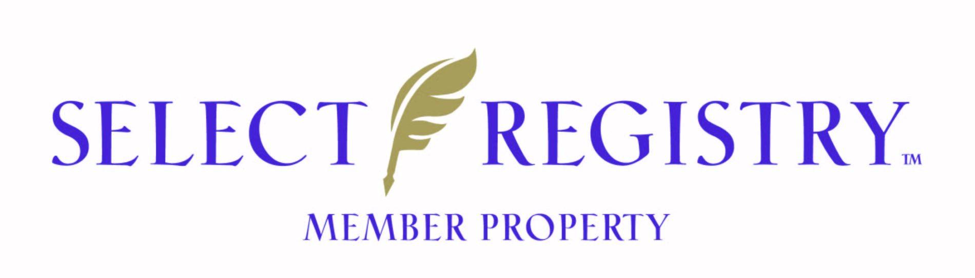 Select registry member property logo